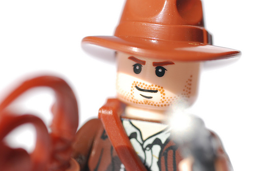 Indiana Jones Lego Man