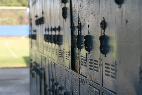 lockers at Venice High