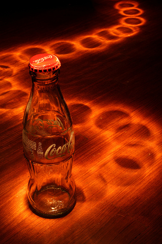 LightPaint CocaCola