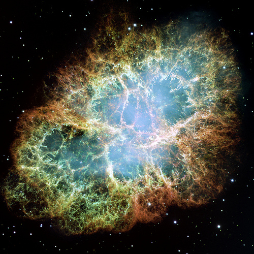 Crab Nebula Supernova