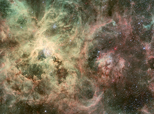 WFI Image of the Tarantula Nebula