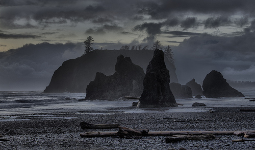 Ruby Beach by John Fowler