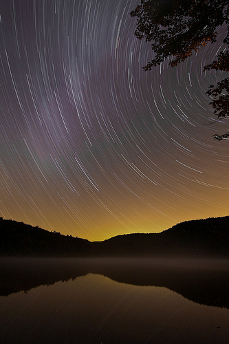 tripod star trails