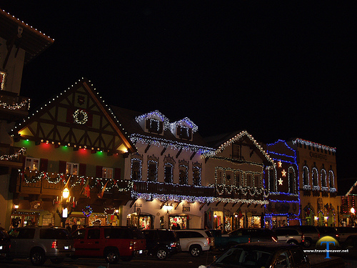 Christmas Lights in Leavenworth
