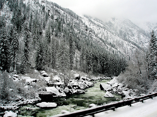Leavenworth snow storm
