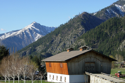 Leavenworth, WA Barn