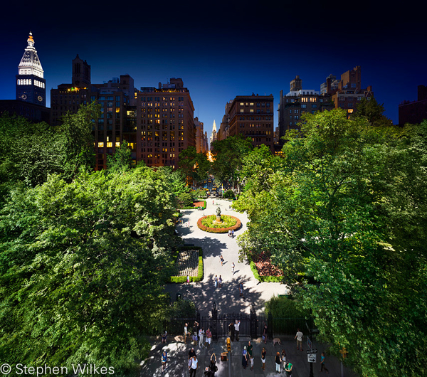 Gramercy Park, Day to Night