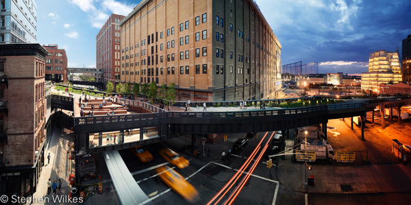 The Highline, Day to Night