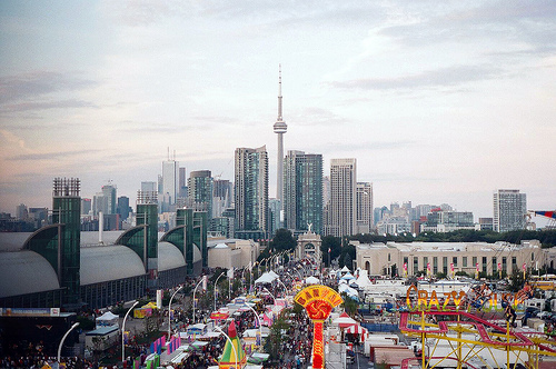 Toronto Skyline from The Ex