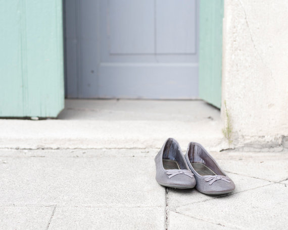 Ballerina Shoes Photo - South of France