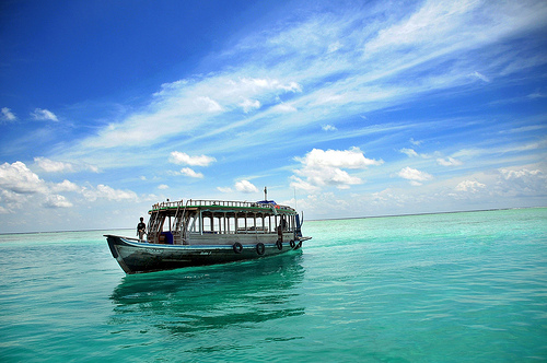 the best mode of transport here in maldives