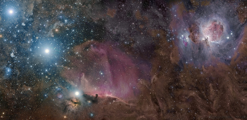 Orion's Deep Field - Belt and sword