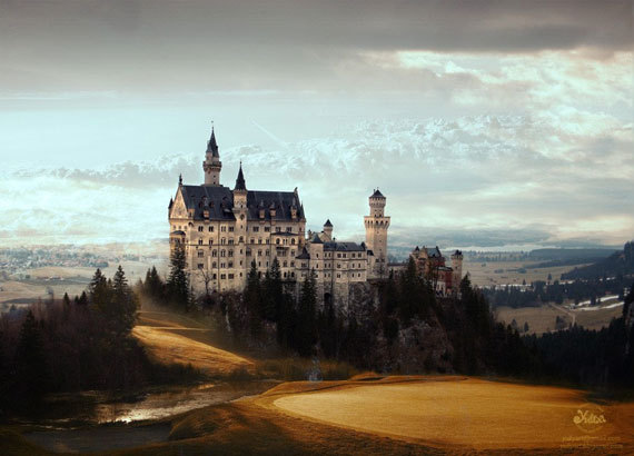 Majestic Castle fairy tale