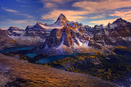 Mt Assiniboine, British Columbia, Canada