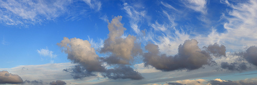 cloud panorama