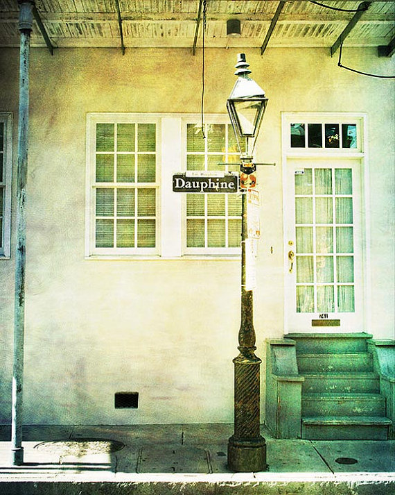 New Orleans Photography, French Quarter Street Sign
