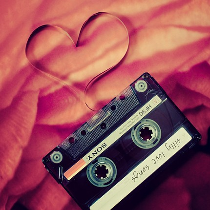 mix tape love valentine's day