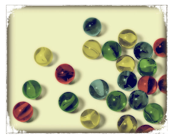childhood marbles