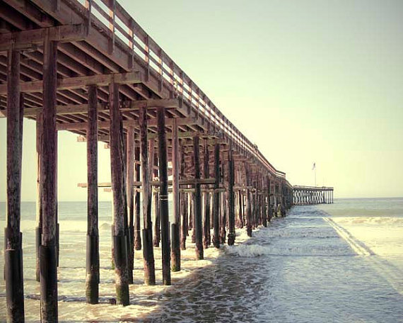 Ventura, California Beach Pier