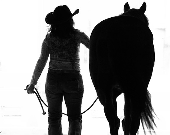 Cowgirl Horse