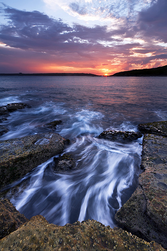 """Heading Out"" - La Perouse Sunset"