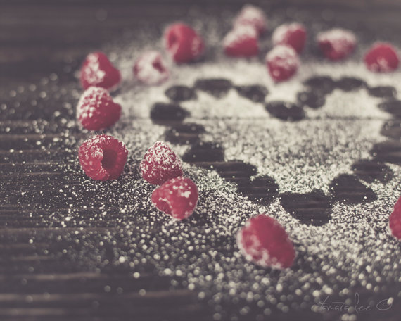 Sugar - Raspberries and Powdered Sugar