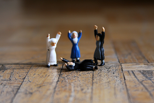 break dancing nuns