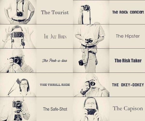 What Type Of Camera Holder Are You?