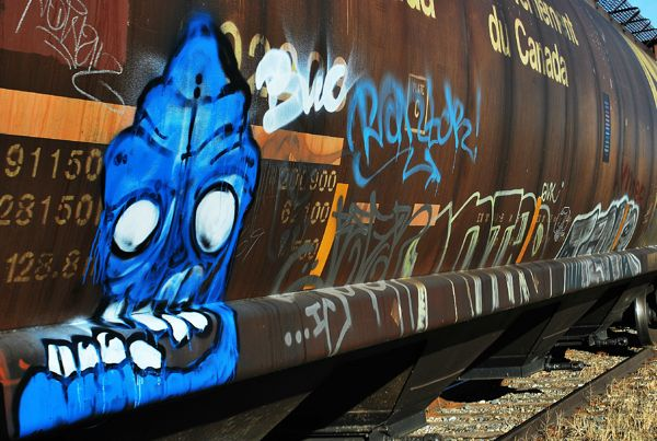 railroad graffiti