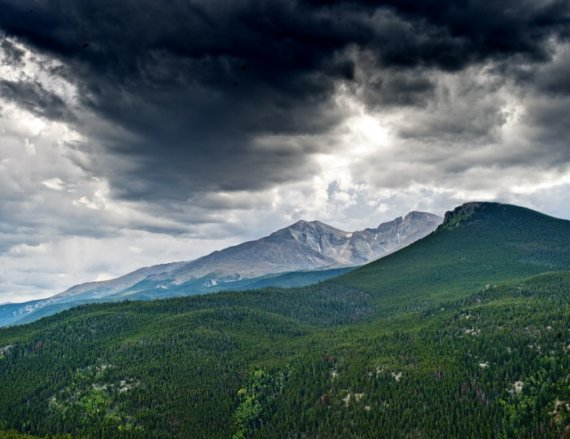 Rocky Mountain National Park, Colorado, Longs Peak