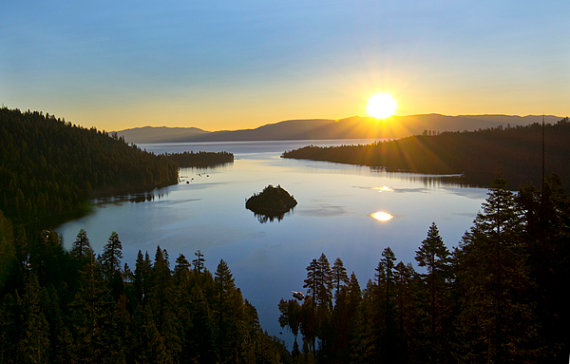 Lake Tahoe Sunrise, California
