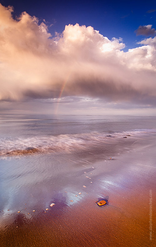 Rainbow over Covehead on Prince Edward Island - Canada
