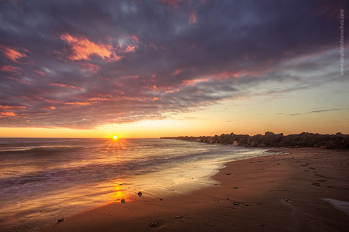 Beach sunrise on Prince Edward Island - Canada