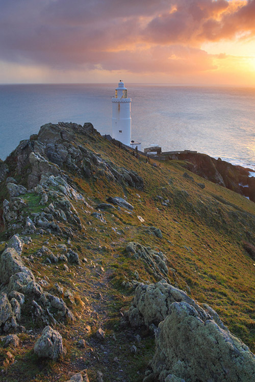 The ledge of Start Point - Southwest England
