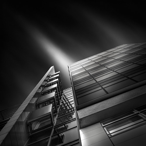 """a path in the sky III"", architecture photography by Julia Anna Gospodarou"