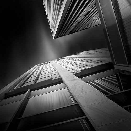 """a path to the sky I"", architecture photography by Julia Anna Gospodarou"