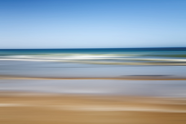 Blurred sea