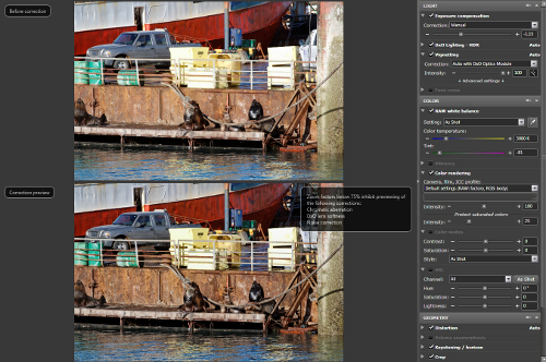 A Simple Workflow for RAW Processing