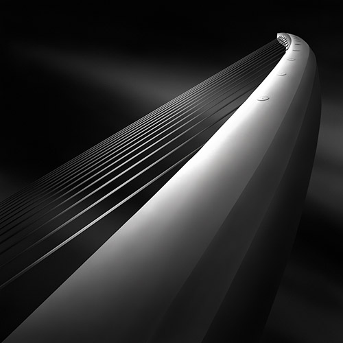 """like a harp's strings III"", architecture photography by Julia Anna Gospodarou"