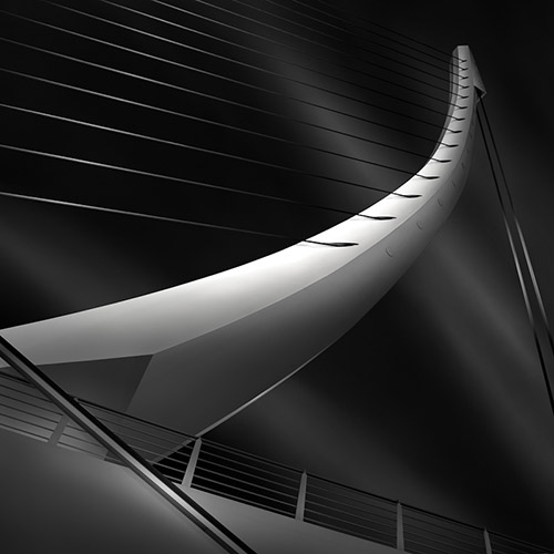 """like a harp's strings II"", architecture photography by Julia Anna Gospodarou"