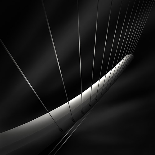 """like a harp's strings IV"", architecture photography by Julia Anna Gospodarou"
