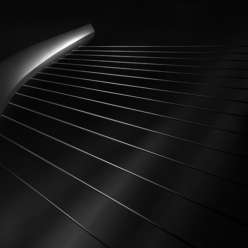 """like a harp's strings V"", architecture photography by Julia Anna Gospodarou"