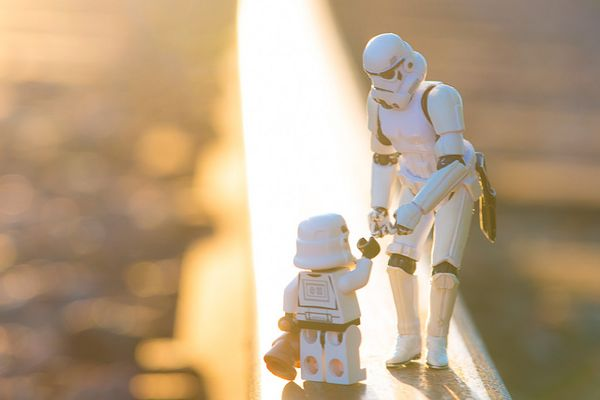 Still Life Photography With Toy Stormtroopers By Kristina