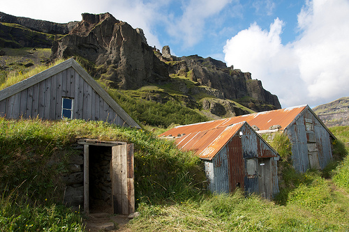 Old Icelandic Buildings