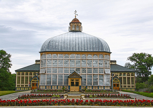 Druid Hill conservatory, Baltimore, Maryland