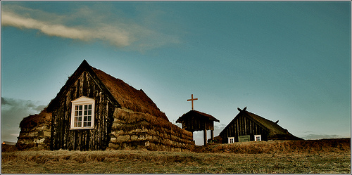 Old church in Iceland
