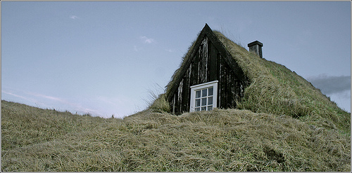 old house in Iceland