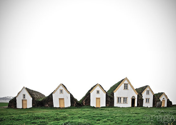 Charming Turf Houses Iceland
