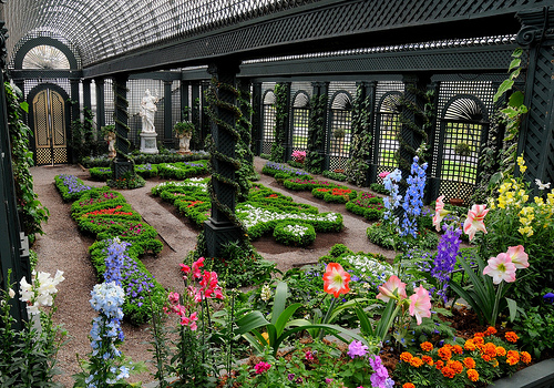 French Garden at Duke Farms greenhouse