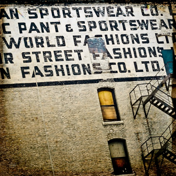 World Fashions billboard